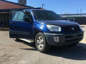 2001 Toyota RAV4 ACA21R Edge Blue 5 Speed Manual Wagon Blair Athol Port Adelaide Area Preview
