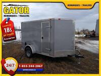REMORQUE FERMÉ V-NOSE ENCLOSED TRAILER CARGO GATOR   6X8
