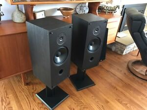 Pair of PSB 500 SPEAKERS, Complete with Stands