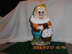 Disney Happy ( seven dwarfs )  refurbished/repainted