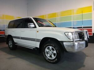 2002 Toyota Landcruiser HDJ100R GXV (4x4) White 4 Speed Automatic 4x4 Wagon Wangara Wanneroo Area Preview
