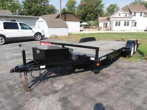 2014 Action Car Hauler 8 x 18 Beaver Tail