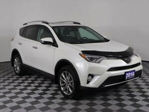 2016 Toyota RAV4 LIMITED w/HEATED LEATHER, MOONROOF, NAVIGATION