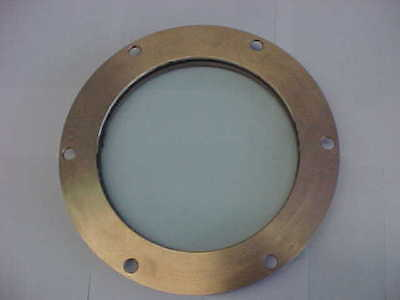 VINTAGE PORTHOLE VIEWPORT BRASS BRONZE HANFORD SITE WINDOW PORT HOLE VIEW PORT