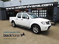 2014 Nissan Navara Tekna 2.5DCi 4x4 Double Cab Pick Up A/C Alloys Leather Blueto
