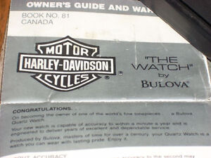 Harley Boliva watch Motorcycle Collectibles Clothing and MORE Windsor Region Ontario image 2