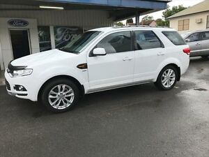 2011 Ford Territory SZ TS (4x4) Winter White 6 Speed Automatic Wagon Young Young Area Preview