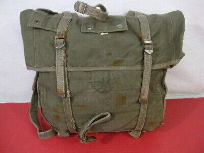 post-WWII Era USMC Marine Corps M1941 Haversack OD Upper Combat Pack - NICE #2