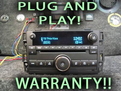 Chevy GMC Truck 08 09 10 11 12 13 STEREO CD MP3 Aux 3.5mm UUI 20918590 SUBURBAN