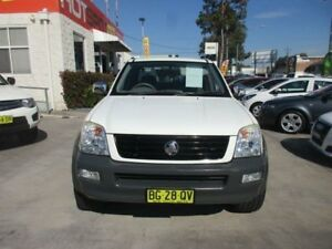 2004 Holden Rodeo RA LX White 4 Speed Automatic Utility