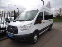 2014 64 FORD TRANSIT 460 2.2 TDCI 155PS L4 H3 TREND DRW 17 SEATER BUS