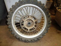 KAWASAKI KX 250 REAR WHEEL 2003 MODEL USED