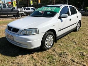 2003 Holden Astra TS City White 5 Speed Manual Hatchback Clontarf Redcliffe Area Preview