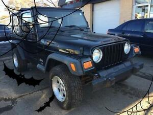 2006 Jeep TJ SE- 6 MONTHS WARRANTY INCLUDED!