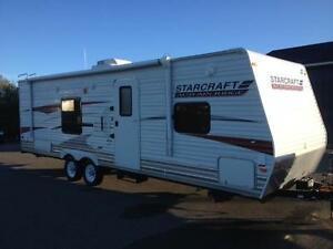 2012 Starcraft Autumn Ridge 297 BHS-Double over Double Rear Bunk