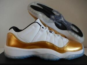 JORDAN 11 GOLD LOW - AUTHENTIC