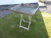 Butlers Tray - Rustic - with stand