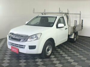 2015 Isuzu D-MAX MY15 SX 4x2 White 5 Speed Manual Cab Chassis Arndell Park Blacktown Area Preview