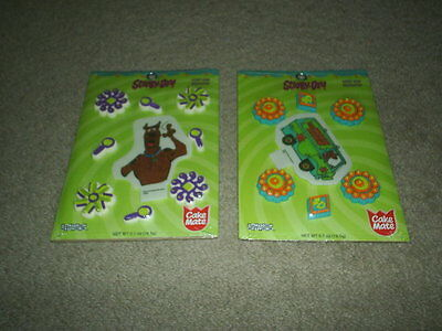 LOT OF 2 CAKE MATE SCOOBY- DOO BIRTHDAY PARTY CAKE DECORATIONS NEW IN PACKAGE - Scooby Doo Cake Decorations