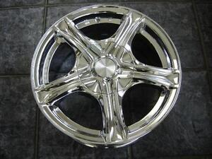 """Kit roues de mag avec pneus neufs 17"""" #M11"""