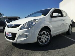 2011 Hyundai i20  White 4 Speed Automatic Hatchback Underwood Logan Area Preview
