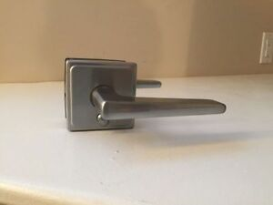 Premium Modern Door Handle with Privacy Lock - Brand New