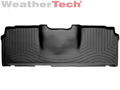 Weathertech Floor Mats Floorliner For Dodge Ram Mega Cab   2Nd Row   Black