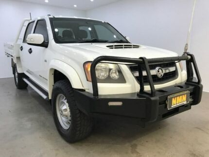 2010 Holden Colorado RC MY11 LX Crew Cab White 5 Speed Manual Cab Chassis Blacktown Blacktown Area Preview