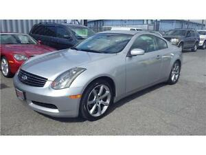 2004 Infiniti G35 Coupe Auto Leather