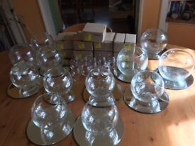Beautiful Glass Table Decorations for Wedding/Special Occasion.