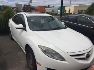 Mazda 6 2009 $2495 finance maison dispo 514-793-0833