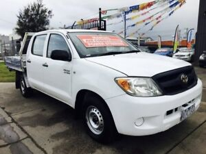 2008 Toyota Hilux TGN16R 07 Upgrade Workmate 5 Speed Manual Brooklyn Brimbank Area Preview