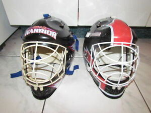 2 Masques de Gardien de BUT Hockey de rue, Street, Ajustable
