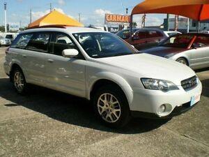 2005 Subaru Outback White Auto Elec Sportshift Wagon Woodridge Logan Area Preview