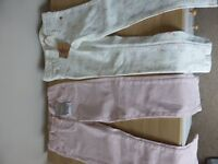 BRAND NEW WITH LABELS - GIRLS NEXT JEANS - AGE 4-5 AND 5 YRS