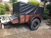 6x 4 covered Trailer
