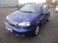 LHD 2003 Daewoo Tacuma SX 1.6 Petrol 5 Door SPANISH REGISTERED