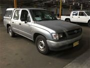 2001 Toyota Hilux RZN149R Silver Manual Utility Hamilton North Newcastle Area Preview