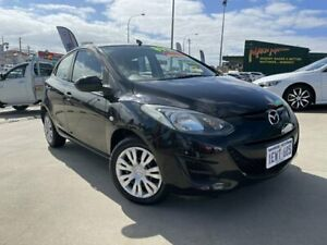 2010 Mazda 2 DE MY10 Neo Black 4 Speed Automatic Hatchback Victoria Park Victoria Park Area Preview