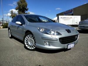 2006 Peugeot 407 MY06 Upgrade SV HDi Silver 6 Speed Tiptronic Sedan Malaga Swan Area Preview