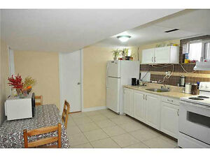 Beautiful, cozy and fully furnished basement apartment