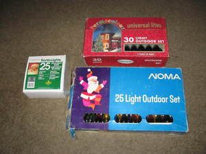 Outdoor electric lights..................
