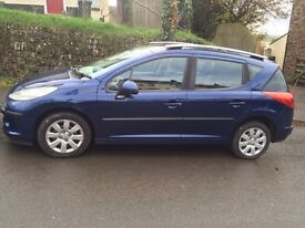PEUGEOT 207 station wagon. Top quality and low miles