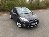 2011 FORD FIESTA 1.4 ZETEC BLUE IDEAL FIRST CAR MUST SEE MOT ONE YEAR £3650 OLDMELDRUM