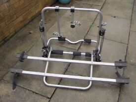 Cycle rack. All fittings. Bought from Halfords for 2 cycles