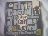 Vinyl 12in 45 I Wanna Be Loved / Turning The Town Red / - Elvis Costello And The Attractions