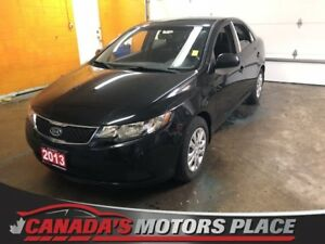 2013 Kia Forte LX Plus LX Plus low km bluetooth, backup cam