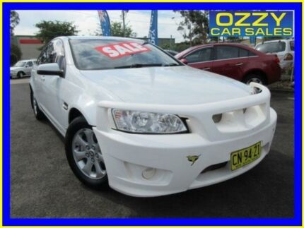 2013 Holden Commodore VE II MY12.5 Omega White 6 Speed Automatic Sedan Minto Campbelltown Area Preview