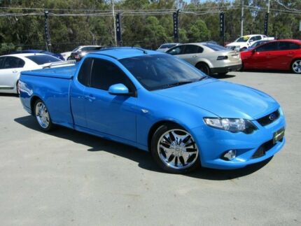 2008 Ford Falcon FG XR8 Blue 6 Speed Auto Seq Sportshift Utility Underwood Logan Area Preview