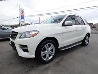 2012 MERCEDES-BENZ ML350 BLUETEC 4MATIC (NAVI, TOIT PANO, FULL!)
